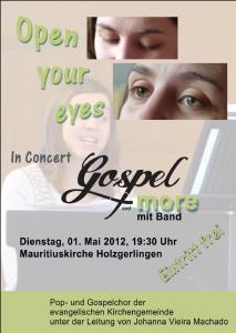 Plakat Konzert 2012