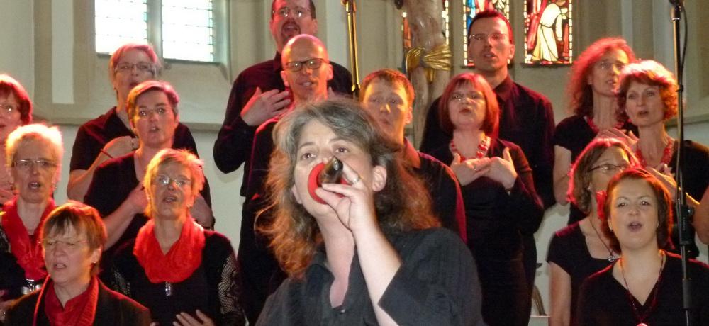 der Pop- und Gospelchor der evangelischen Kirchengemeinde Holzgerlingen